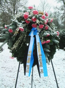 Oberbürgermeister Neu-Ulm Kranz Jüdischer Friedhof