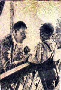Hitler mit Kind in Illerbeuren Museum