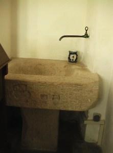 Ansbach synagoge waschbecken