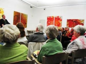 Micha Brumlik Publikum Augsburg