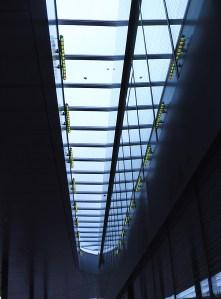 neuer Königsplatz Augsburg Dach Konstruktion Beleuchtung