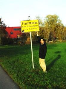 painting Fleinhausen Dinkelscherben Augsburg