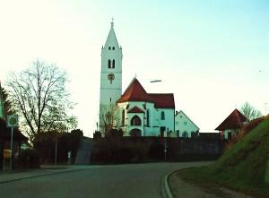 Fleinhausen Kirche Friedhof Dinkelscherben