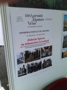 Jüdische Spuren im böhmischen Grenzland Böhmerwaldmuseum Wien