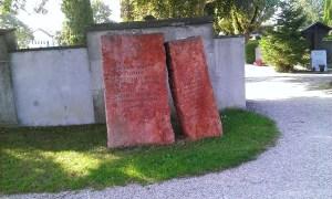 Jewish Memorial at Cemetery Weilheim Oberbayern Jüdisches Denkmal Friedhof